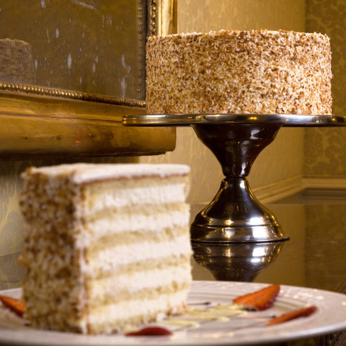 By The Talented Peninsula Grill Pastry Chefs Begin Baking Delicious Ultimate Coconut Cakes At Dawn