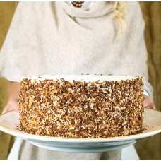 The talented Peninsula Grill Pastry Chefs begin baking delicious Ultimate Coconut Cakes at dawn. By midday, their 12-layer masterpieces are carefully packaged and ready to be shipped across America via overnight delivery.